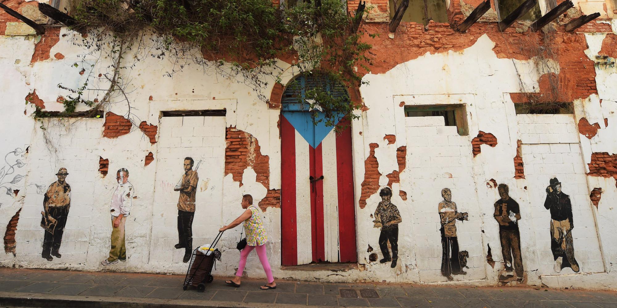 Puerto Rico Debt - Old San Juan, Puerta Rico